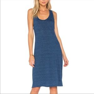 NEW AG Adriano Goldschmeid Avril Linen Midi Dress
